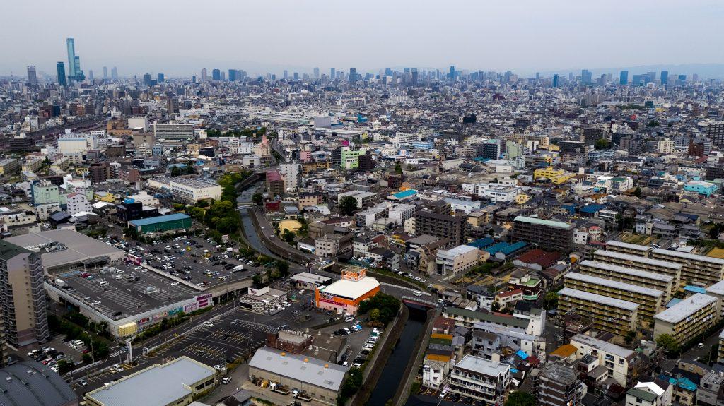 大阪ドローン空撮