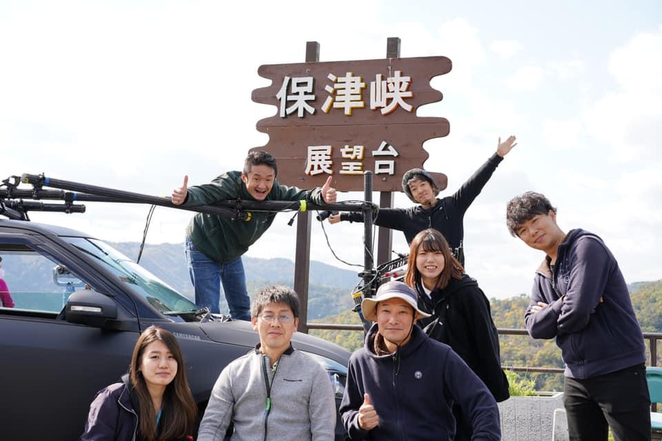 ドローン撮影準備 高雄嵐山パークウェイ